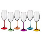 """Набор бокалов для вина """"Барбара декорейшн"""" из 6 шт."""