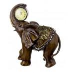 """Часы настольные """"Слон - ускорение положительной энергии"""""""