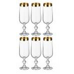 """Набор бокалов для шампанского """"Клаудия"""" из 6 шт."""