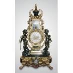 Часы каминные (бронза/мрамор)
