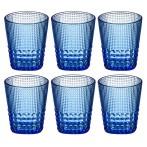 """Набор стаканов для воды """"Индиго"""" из 6 шт."""