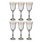 """Набор бокалов для вина """"Анжела"""" из 6 шт."""