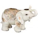 """Фигурка """"Слон белый - символ благоразумия и мудрости"""""""