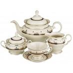 """Чайный сервиз """"Изабель"""" на 6 персон 15 предметов"""