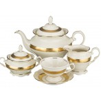 """Чайный сервиз """"Луксор"""" на 6 персон 15 предметов"""