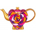 "Чайник ""Сердце пурпурная роза"""