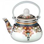 Чайник эмалированный с фильтром из нжс