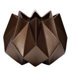 Ваза керамическая (цвет кофе)