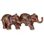 """Набор фигурок слонов """"Успех и удача во всем"""" из 2 шт."""