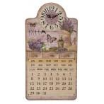 Часы-календарь настенные кварцевые