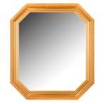 Восьмигранное зеркало в раме