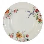 """Тарелка суповая """"Цветы"""""""