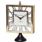 Часы настольные прямоугольные на подставке
