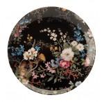 """Тарелка """"Полночные цветы"""""""