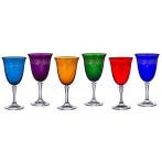"""Набор бокалов для вина """"Клеопатра микс"""" из 6 шт."""
