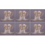 """Чайный набор """"Лаурус"""" на 6 персон 12 предметов"""