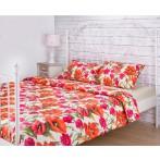 """Комплект постельного белья 1,5 спальный """"Маки"""""""