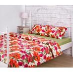 """Комплект постельного белья """"Маки"""" 1,5-спальный"""