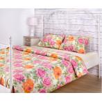 """Комплект постельного белья """"Пионы"""" 1,5-спальный"""