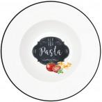 """Тарелка для пасты """"Кухня в стиле Ретро"""""""