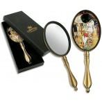Зеркало ручное в подарочной упаковке, Г. Климт, Поцелуй