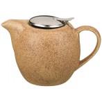 Заварочный чайник с металлической крышкой и фильтром