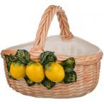 Корзина с лимонами