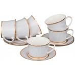 Кофейный набор на 6 персон 12 предметов