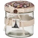 Шкатулка для швейных мелочей с подушечкой для иголок