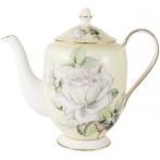 """Чайник """"Белые розы"""""""