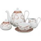 """Чайный сервиз """"Viola sk012"""" на 6 персон 15 предметов"""