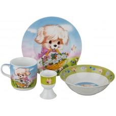 Набор посуды на 1 персону 4 предмета