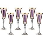 """Набор бокалов для шампанского """"Виолетта"""" из 6 шт."""