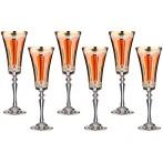 """Набор бокалов для шампанского """"Рубикондо"""" из 6 шт."""
