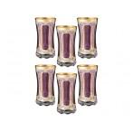 """Набор стаканов для воды """"Виолетта"""" из 6 шт."""