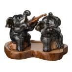 """Набор фигурок """"Слон"""" с подставкой из 2 шт."""