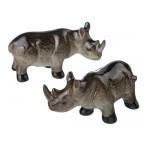 """Набор фигурок """"Носорог"""" из 2 шт."""