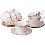 Чайный набор на 6 персон 12 предметов