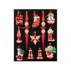 """Декоративный набор игрушек """"Кладовая Деда Мороза"""" из 12 шт."""