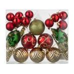 """Декоративный набор шаров """"Сказочное рождество"""" из 42 шт."""