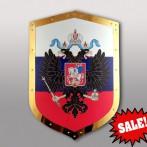 Щит с гербом РФ