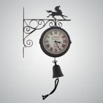 """Часы на кронштейне """"Лошадь"""""""