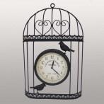 """Часы интерьерные настенные """"Птицы в клетке"""""""
