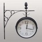 Часы на кронштейне (с термометром)