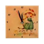 """Часы """"Милые девочки: на прогулке"""""""