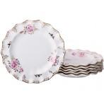 """Набор из 6-ти тарелок десертных """"Завтрак у королевы"""""""