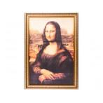 "Картина на шёлковом холсте ""Мона Лиза"""