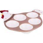 """Подставка для 5-ти яиц """"Кружевная пасха"""""""