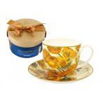 "Чашка с блюдцем ""Подсолнухи"" (Ван Гог)"