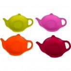 Набор из 4-х силиконовых подставок для чайного пакетика